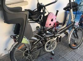 自行车带儿童座椅出售