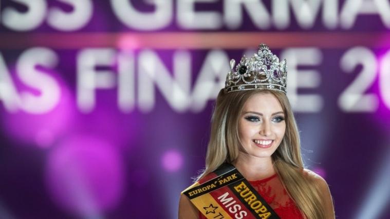 德国选美冠军高中毕业,今年18岁