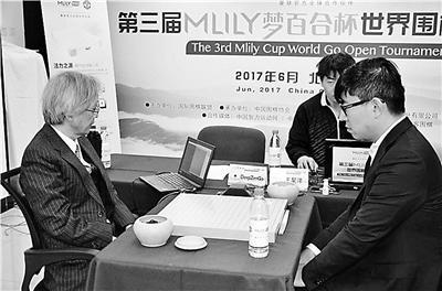 中国棋手王昊洋击败日本围棋程序DeepZenGo晋级