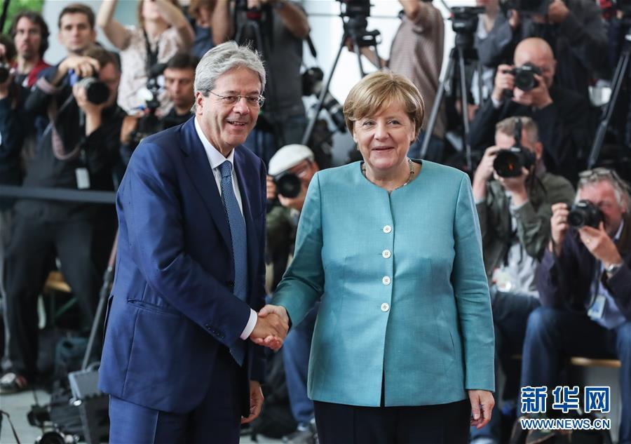欧洲领导人齐聚柏林 为二十国集团峰会做好准备