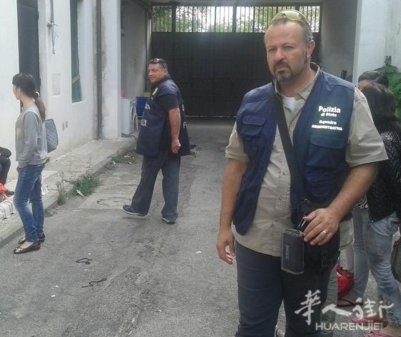 一华人印花厂被查及停业 工人里还有6名意大利人