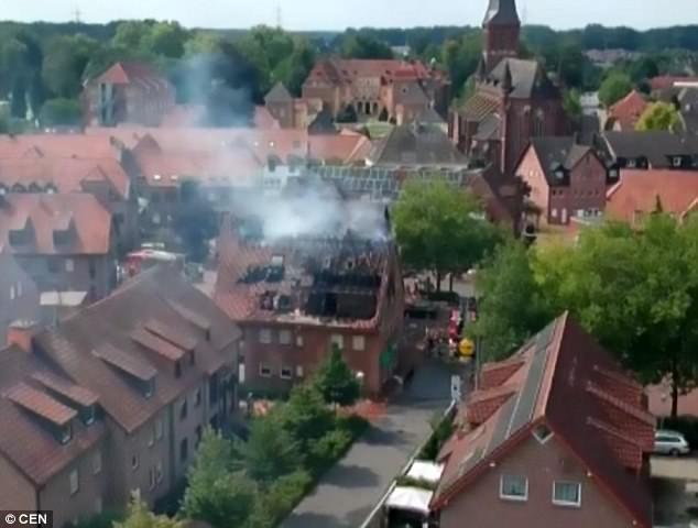 德国18岁熊孩子不想搬家 结果把新家炸了……
