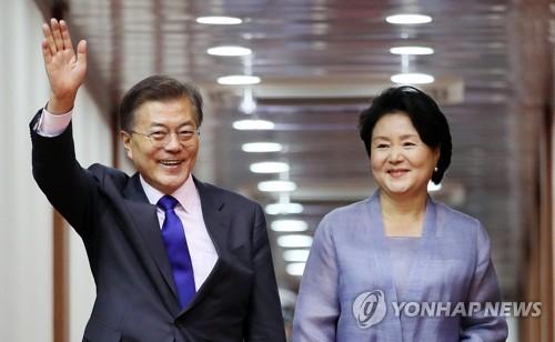 文在寅结束访美之行 重谈韩美自贸协定未成功