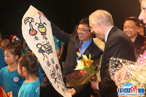 """""""这五年·我与中国"""":植根华夏做中华文化传播者"""