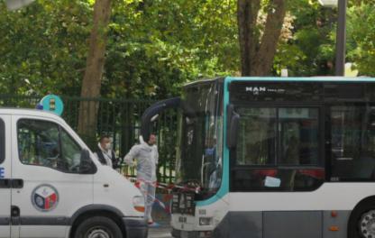 巴黎一男子带自行车上公交致乘客不悦,怒将对方砍死