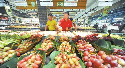 7月份全国居民消费价格同比上涨2.1%