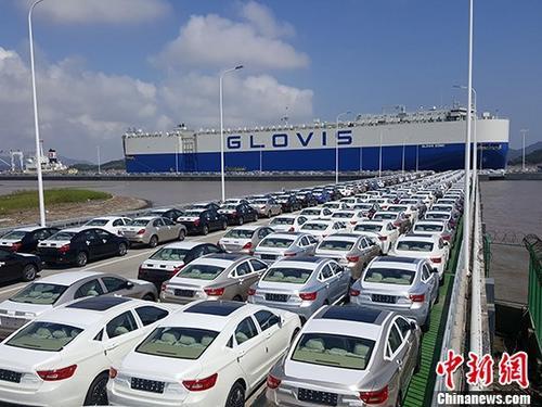 """二季度中国汽车产业景气指数仍处""""趋冷""""区间"""