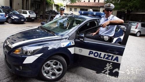 维琴察两名男子在大街上搞基被开出2万欧元罚款
