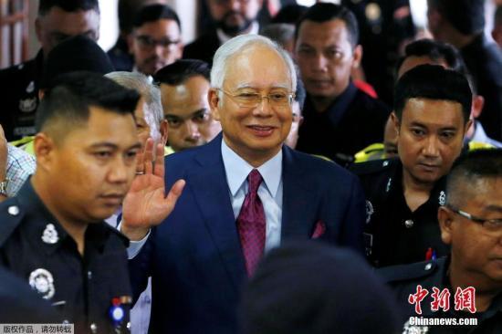 马来西亚前总理纳吉布被控七项罪名 将于明年2月开审