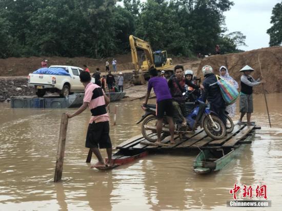老挝成立专门委员会调查溃坝事故原因和相关责任人