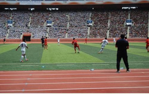 韩国批准151人访朝参加平壤青少年足球赛