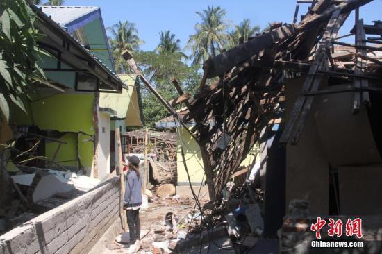 中国向印尼地震灾区提供紧急人道主义援助