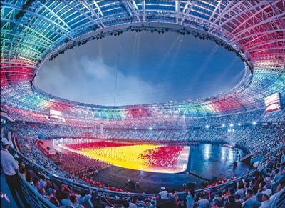 天津全运观察:点燃每一个人的运动热情