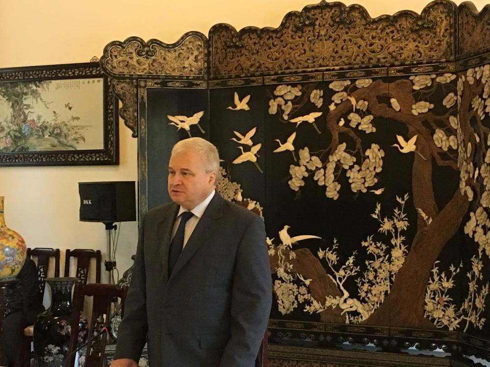 俄驻华大使谈中印对峙:两国能解决 无需俄斡旋