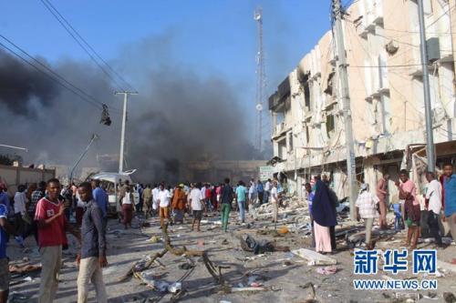 索马里汽车炸弹袭击死亡人数升至85人 约250人伤