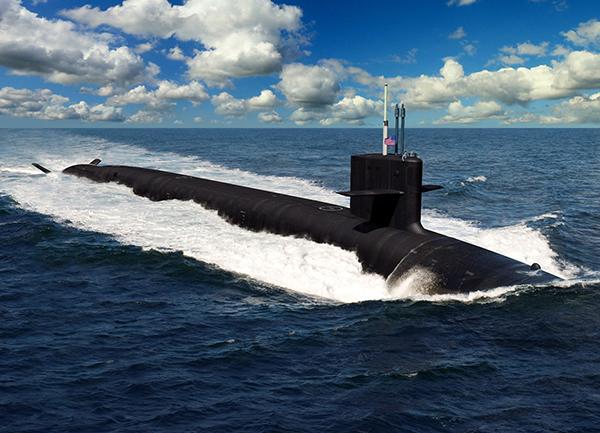 业界新标杆:美军造新一代战略核潜艇 单价50亿美元