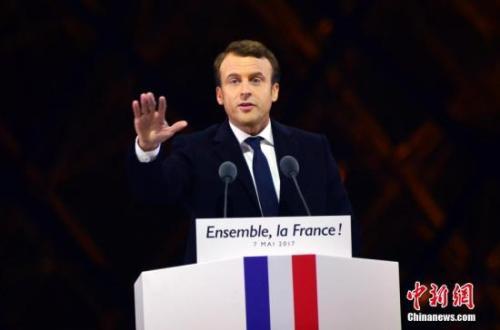 民调:支持率大跌 57%法国人不满马克龙表现