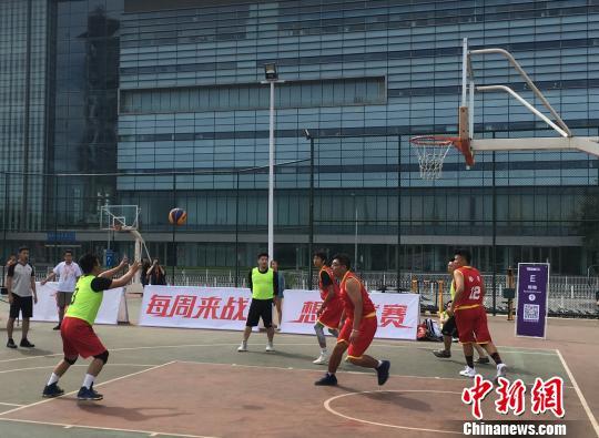 胜利三人篮球联盟新赛季开幕 业余选手玩转专业比赛