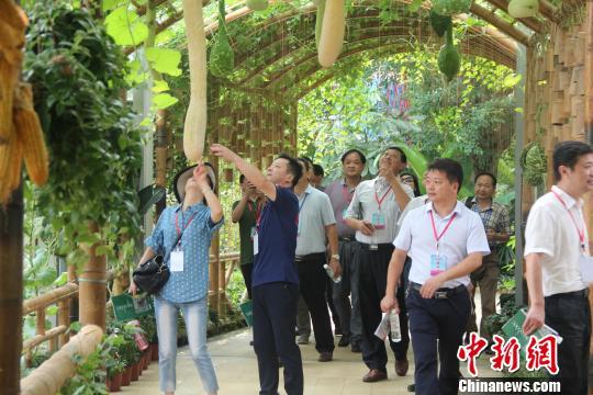 """中国汇源农谷体验园在""""世界长寿之乡""""开园(图)"""