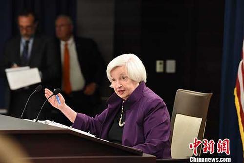 美联储主席称监管增强美国金融系统安全 未阻碍经济增长