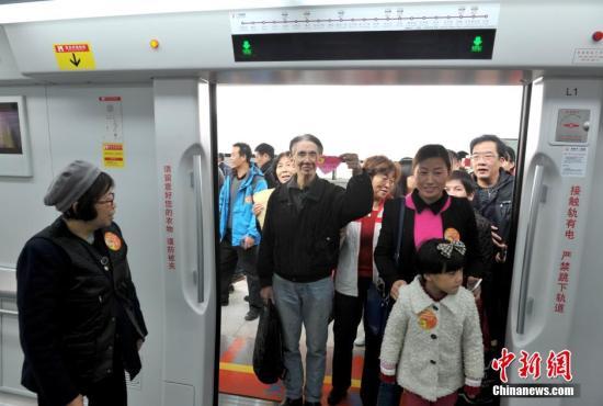 广州十三号线二期获批  最高时速一百公里