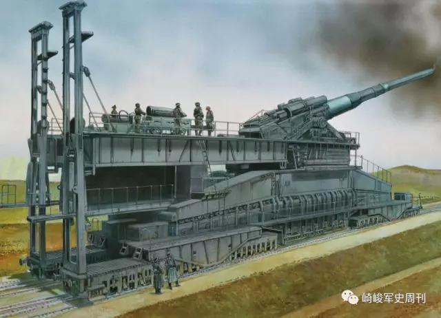 二战德国列车炮:转战东西两线,镇守海陆壁垒