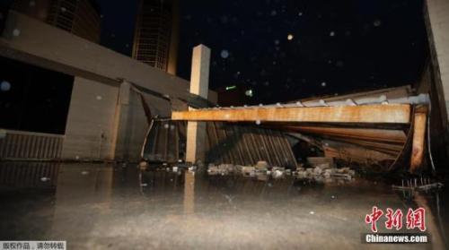 飓风哈维登陆美国得州 受影响地区被列为重灾区