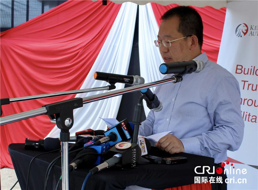 中国援助肯尼亚三套集装箱检查设备