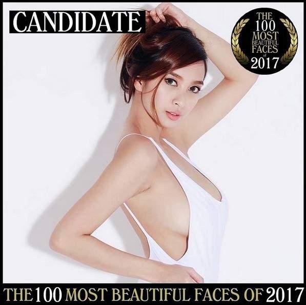 菲律宾正妹入围全球百大最美脸蛋候选名单