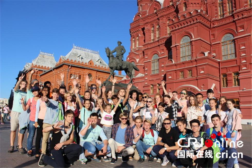 """中国学生首次参加俄罗斯""""核能少年""""夏令营"""