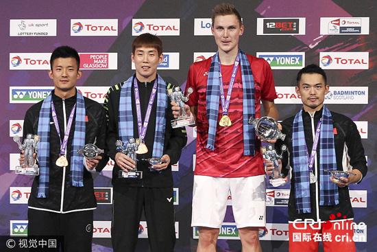 中国男单11年大赛统治结束 谌龙林丹双保险失灵