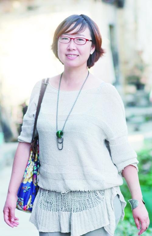 追求自然之美的女画家赵耕