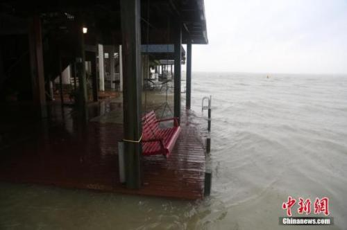 """""""哈维""""已致3人死亡 引发龙卷风、洪涝等次生灾害"""