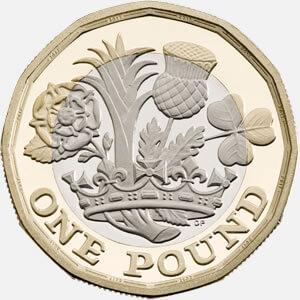 """旧版一英镑硬币退出流通 英国民众""""花钱忙""""(图)"""