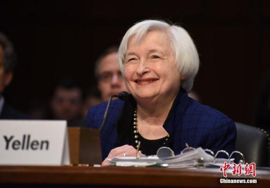 耶伦称美通胀疲软为暂时性 美联储将维持渐进式加息